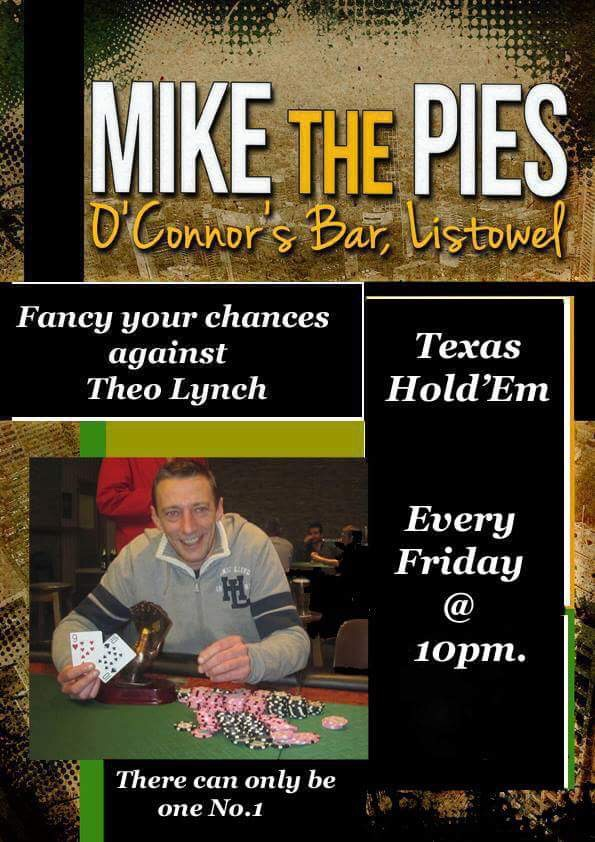 Texas Hold Em - Mike The Pies